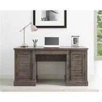 Ameriwood Home Sienna Park Double Pedestal Desk