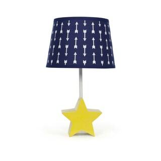 The Peanut Shell Star Bright Arrows Aglow Lamp