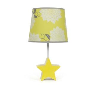 The Peanut Shell Star Bright Dahlia Lamp