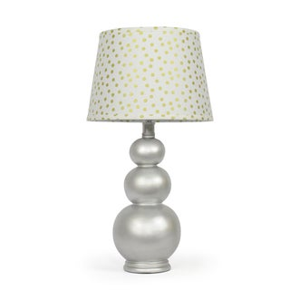 The Peanut Shell Lustrous Gold Confetti Lamp