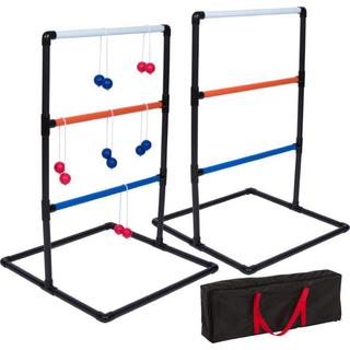 "Trademark Innovations 35.5"" PVC Ladderball Toss Game Set"