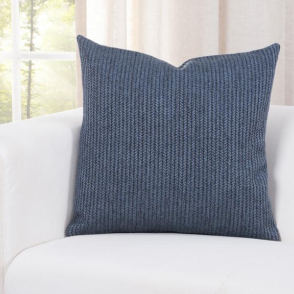 Carson Carrington Aarhus Deep Blue Accent Pillow