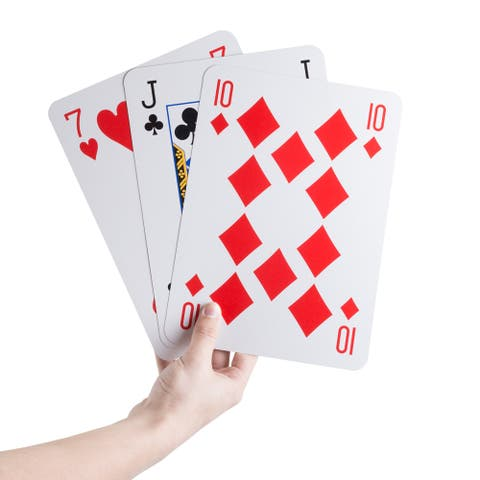 Hey! Play! Jumbo Playing Cards