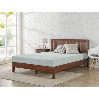 Priage Deluxe Antique Espresso Solid Wood Platform Bed With Headboard|https://ak1.ostkcdn.com/images/products/16107609/P22489746.jpg?impolicy=medium