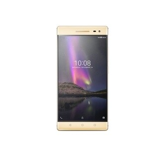 "Lenovo Phab 2 Pro 64 GB Smartphone - Champagne Gold - 6.4"" LCD 2560 x"