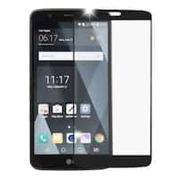 Insten Black Clear Tempered Glass Screen Protector For LG Stylo 3 LS777/ K10 Pro/ Stylus 3