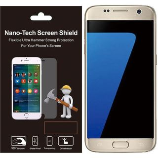 Insten Clear Plastic Screen Protector For Samsung Galaxy S7
