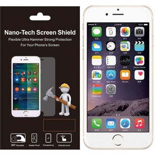 Insten Clear Plastic Screen Protector For Apple iPhone 6/ 6s