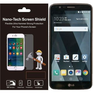 Insten Clear Plastic Screen Protector For LG Stylo 3 LS777/ K10 Pro/ Stylus 3