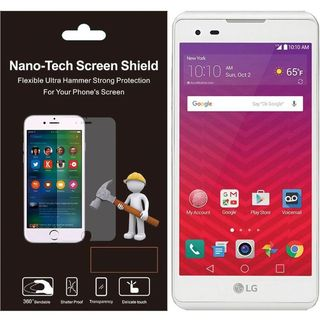 Insten Clear Plastic Screen Protector For LG Tribute HD