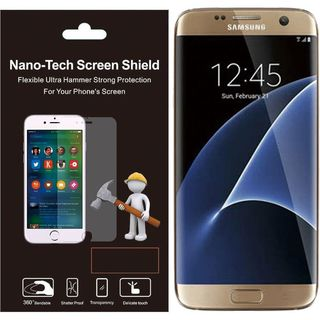 Insten Clear Plastic Screen Protector For Samsung Galaxy S7 Edge