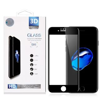 Insten Clear Tempered Glass Full Screen Protector For Apple iPhone 7