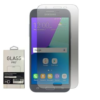 Insten 0.33mm Clear Tempered Glass Screen Protector For Samsung Galaxy Amp Prime 2/J3 (2017)/J3 Emerge