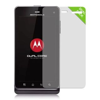 Insten 2-Pack Clear Screen Protector For Motorola Droid 3