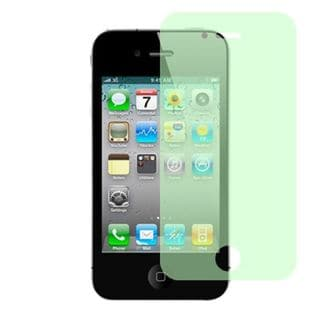 Insten Clear Screen Protector For Apple iPhone 4/4S, Green