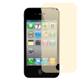Insten Clear Screen Protector For Apple iPhone 4/4S, Orange