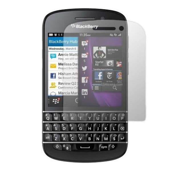 Insten Clear Screen Protector For BlackBerry Q10