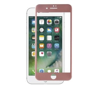 Insten Rose Gold Clear Tempered Glass Screen Protector For Apple iPhone 7 Plus