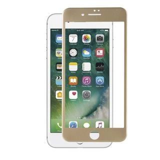 Insten Gold Clear Tempered Glass Screen Protector For Apple iPhone 7