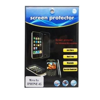 Insten Mirror Screen Protector For Apple iPhone 4/4S