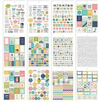 Carpe Diem Home Stickers A5 12/Pkg-