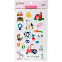 Barnyard Puffy Stickers-Icons