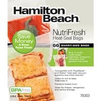 Hamilton Beach NutriFresh 66 ct. Heat-Seal Bags