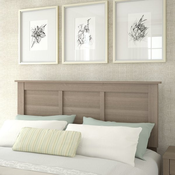 Somerset Ash Grey Wood Queen Or Full Size Headboard Free