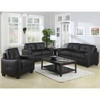 Contemporary Modern Design Black Living Room Sofa Collection