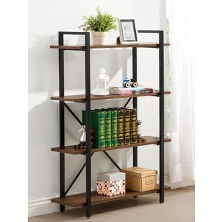 Industrial Style Home Office Scaffold Design Bookcase