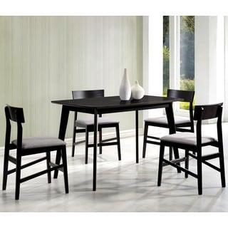 Mid-Century Contemporary Grey Design 5-piece Dining Set