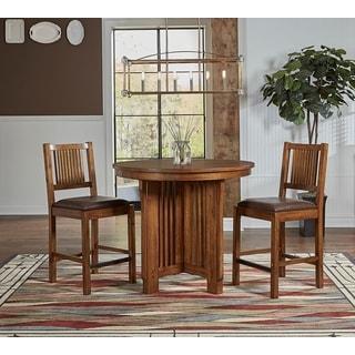 Devon 3-piece Solid Wood Counter Dining Set