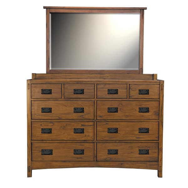 Milla Solid Wood Dresser And