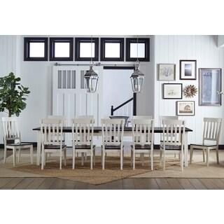 Tessa 11-piece Solid Wood Dining Set