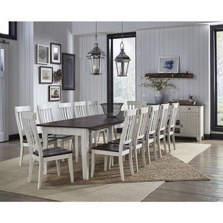 Tessa 14-piece Solid Wood Dining Set
