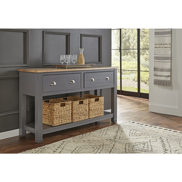 Shop Simply Solid Luma Grey Wood Sideboard On Sale Free Shipping Today Overstock 16120486