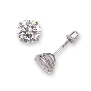 Sterling Silver Rhodium-plated Solitaire Round Cubic Zirconia CZ Stud Screw-back Earrings (3mm-7mm) https://ak1.ostkcdn.com/images/products/16120514/P22501132.jpg?impolicy=medium