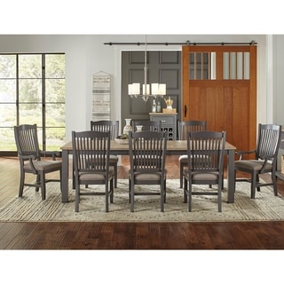 Luma 7-Piece Solid Wood Dining Set