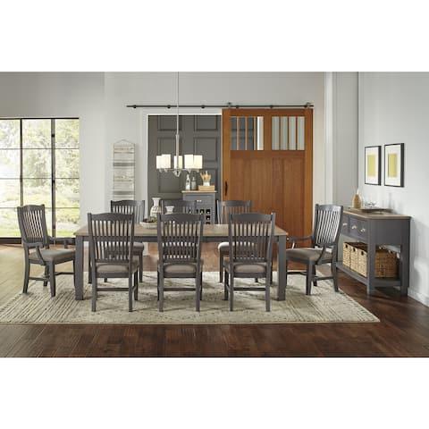 Luma 8-piece Solid Wood Dining Set