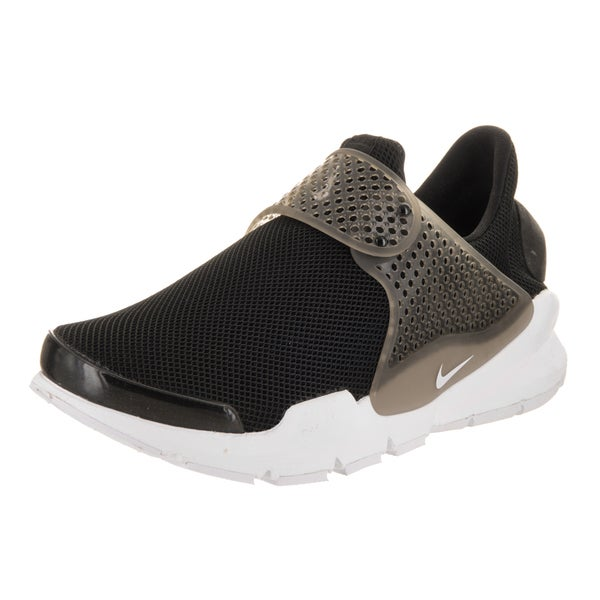 295ef319a6b806 Shop Nike Women s Sock Dart BR Black Synthetic-leather Running Shoes ...