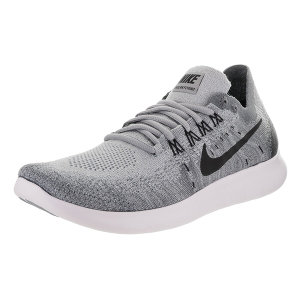 timeless design 92ec1 de005 Nike Women  x27 s Free RN Flyknit 2017 Grey Running Shoes