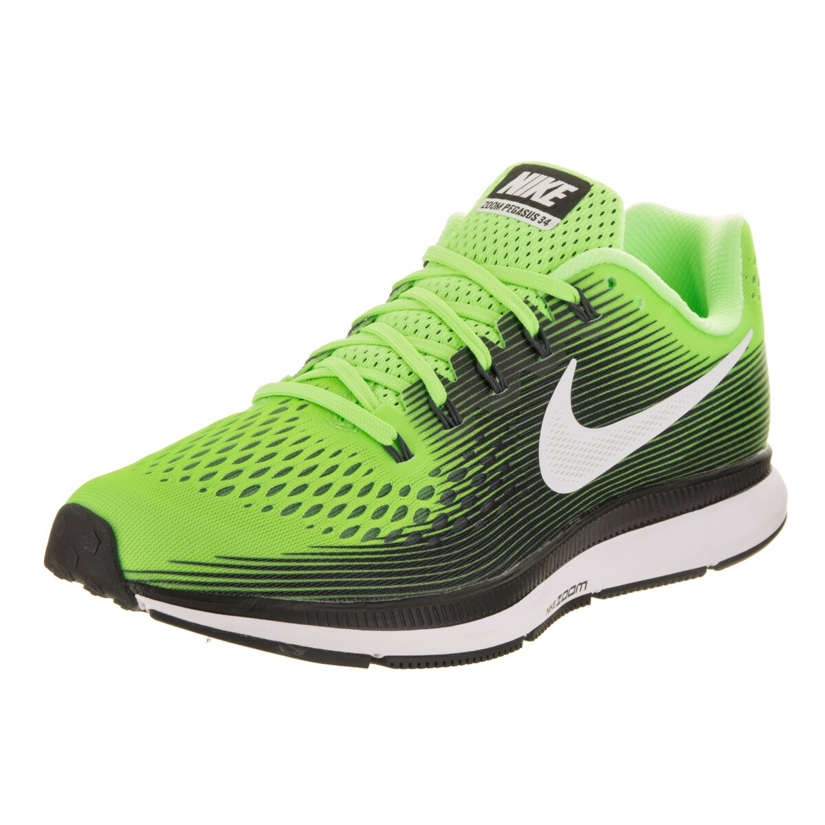 Nike Men's Air Zoom Pegasus 34 Running Shoe (8.5), Green ...