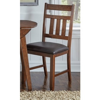 Simply Solid Karlina Honey Wood Dining Chairs (Set of 2)
