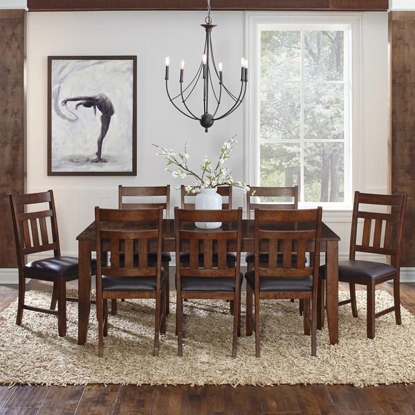 Shop Karlina 7-piece Solid Wood Dining Set