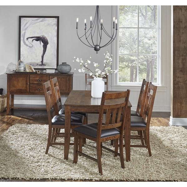 Shop Karlina 8-piece Solid Wood Dining Set