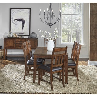 Karlina 8-piece Solid Wood Dining Set