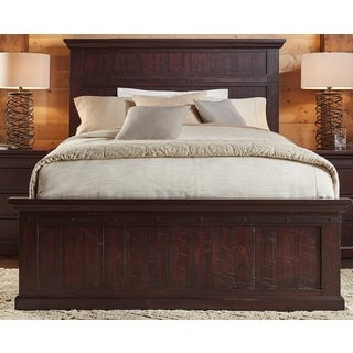 Lara Solid Wood Panel Bed (2 options available)