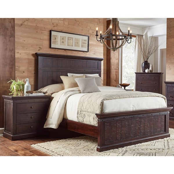 Shop Lara 3-piece Solid Wood King Bedroom Set