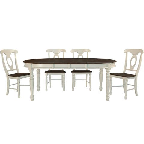 Mollie 5-piece Solid Wood Dining Set