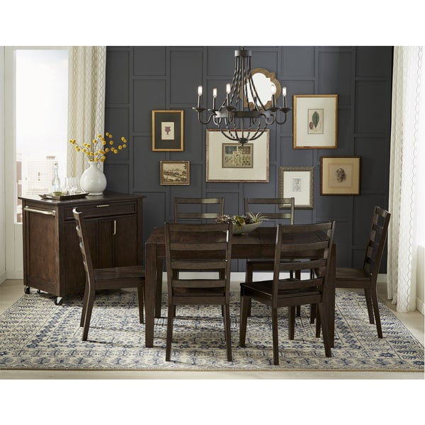 Shop Simply Solid Lucia 5-piece Solid Wood Dining Set